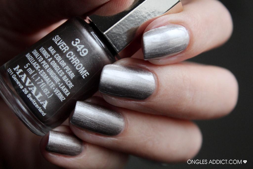 Mavala Nail Polish Silver Chrome 349 - Dun Laoghaire Pharmacy